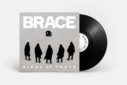BRACE - LP VINYL BLACK
